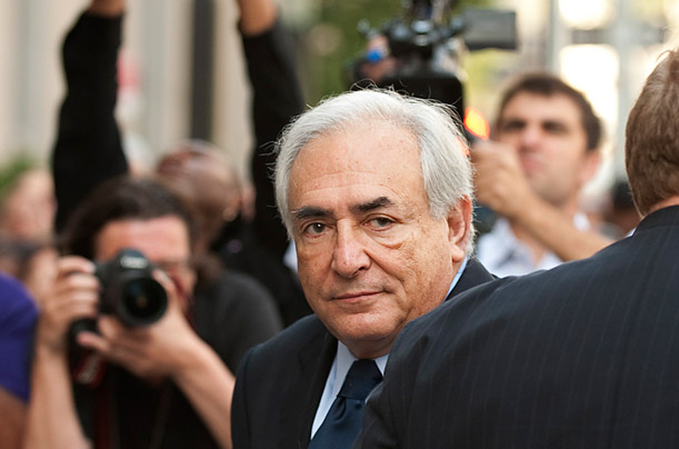 Dominique Strauss-Kahn of the IMF Begins His Legal Battle