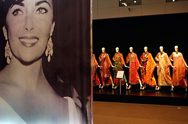 Elizabeth Taylor's Belongings Go on Auction