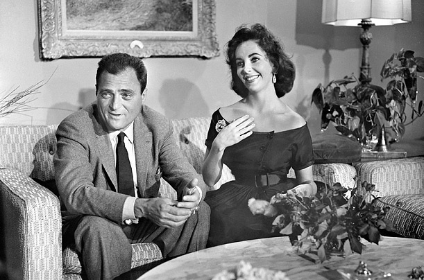 The Many Marriages of Elizabeth Taylor<br />The Hollywood beauty was married eight times, to seven different men.