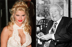 Anna Nicole Smith couple