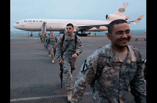 Iraq Troops Return Home