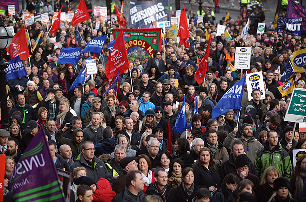 uk, britain, strike, united kingdom, labor, pensions