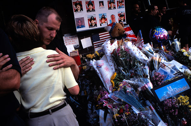 World Trade Center Vigils after September 11, 2001
