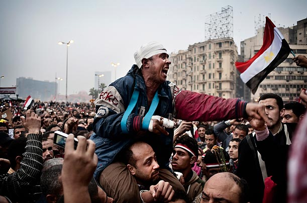 Continued Protests in Cairo
