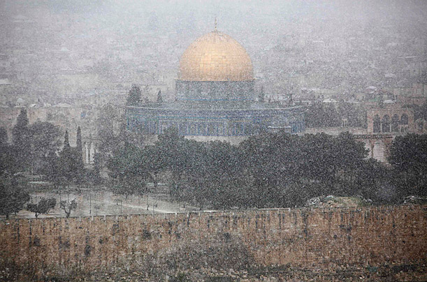 Middle East Snowstorms
