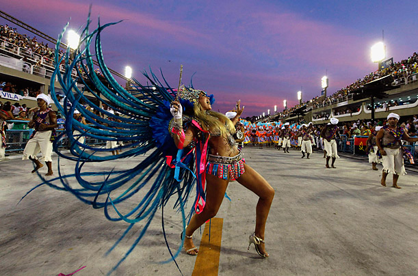 Carnival, the biggest and most popular celebration in Brazil, happens annually in the days leading up to Easter.