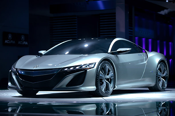 The 2012 Acura NSX Concept
