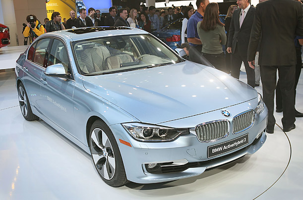 The 2012 BMW 3 Series Active Hybrid