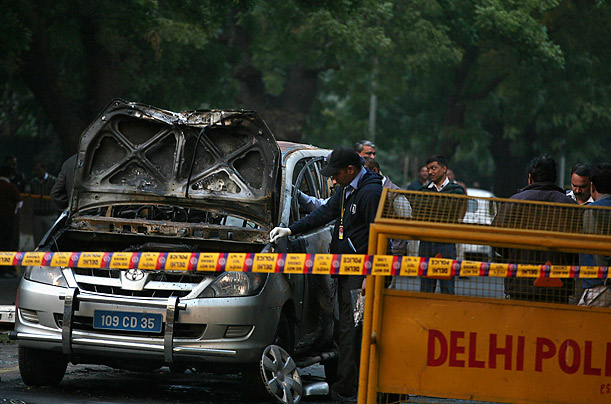 Explosion Near the Israeli Embassy in New Delhi