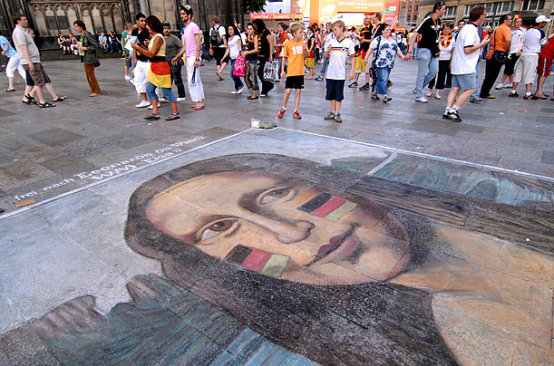 mona lisa painting essays Sometimes the fable of art has been carried to the pitch of high farce  in his  romance of leonardo, merejkowski describes the mona lisa in.