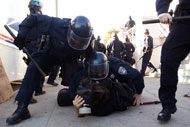 Protesters and Police Clash at Occupy Oakland