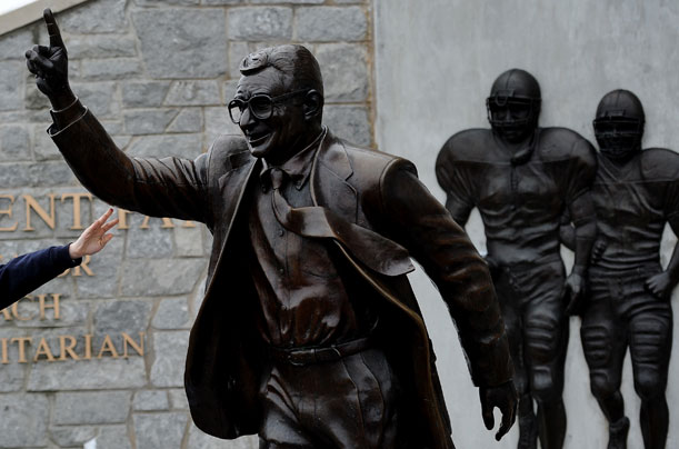 essay on joe paterno Penn state scandal essay sample bla bla writing pennsylvania he was the assistant coach at pennsylvania state university.