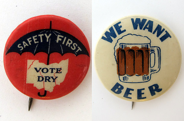 Political Buttons from the Button Museum