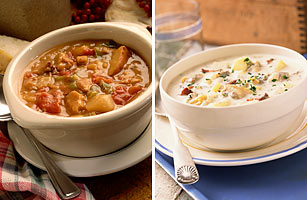 BOSTON NEW ENGLAND CLAM CHOWDER