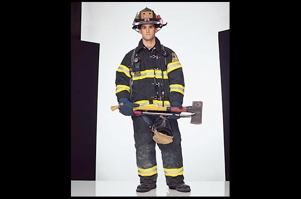 Jason Cascone finished his training on September 10, 2001. The next morning his mother woke him up and said there was a fire at the World Trade Cente