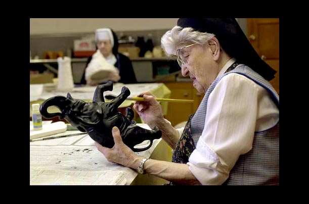 At 106, Sister Esther is the oldest nun in the order.
