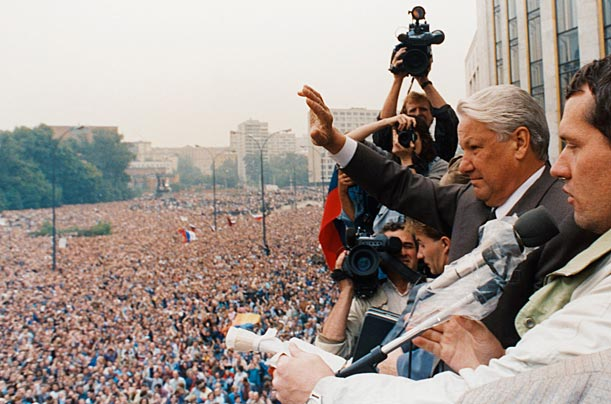 Russia August putsch 1991