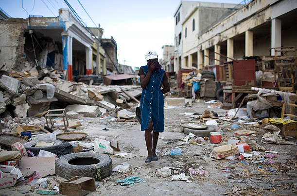 The Haitian government reported that an estimated 230,000 people had died, and 1,000,000 made homeless by the disaster.