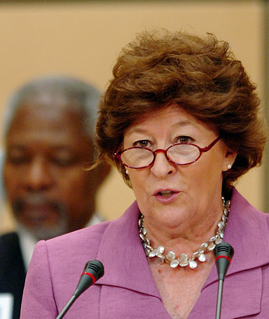 life and times of louise arbour Improvement is evident in life expectancy (louise arbour) like many, i deplore the us for their rejection of the international criminal court.