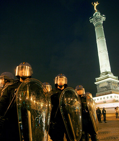 Paris Sarkozy Police Riots election
