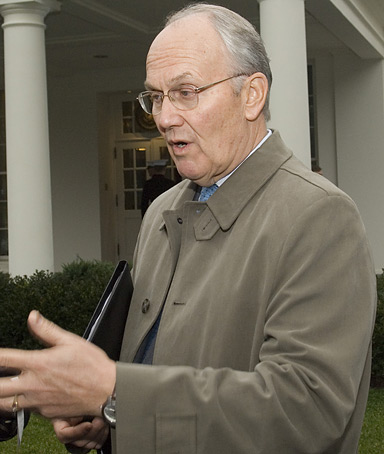 Republican Senator Larry Craig of Idaho