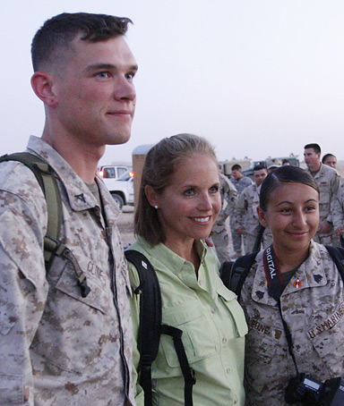 Katie Couric Iraq