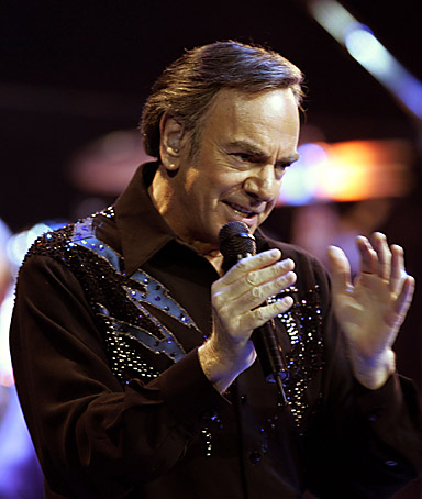 Singer Neil Diamond  caroline kennedy