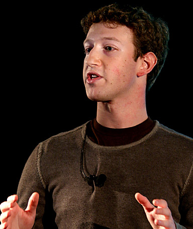 MARK ZUCKERBERG, founder of the social networking site Facebook, apologizing for the site�s advertising system, which some users called an invasion of privacy