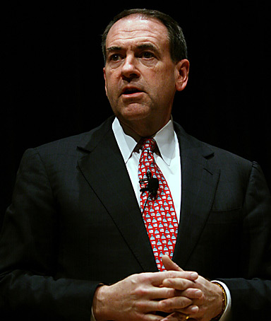 Republican presidential candidate MIKE HUCKABEE
