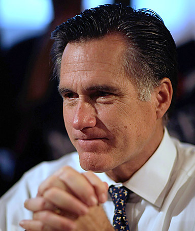 Republican presidential contender Mitt Romney, said Tuesday morning on Fox and Friends