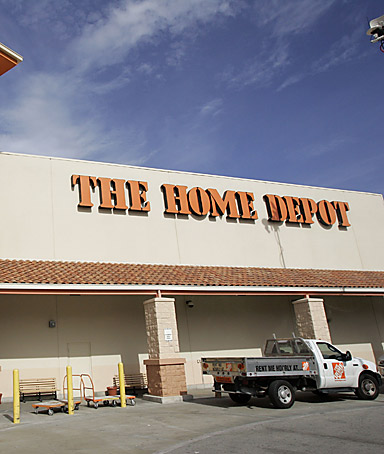 KATHRYN GALLAGHER, a spokeswoman for Home Depot, as major retail stores adopt bargaining policies during the slow economy