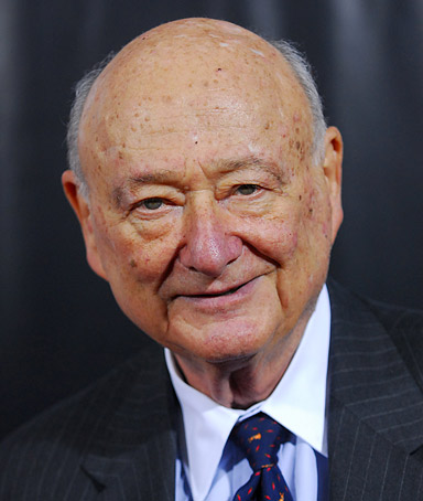 Former mayor of New York City Ed Koch