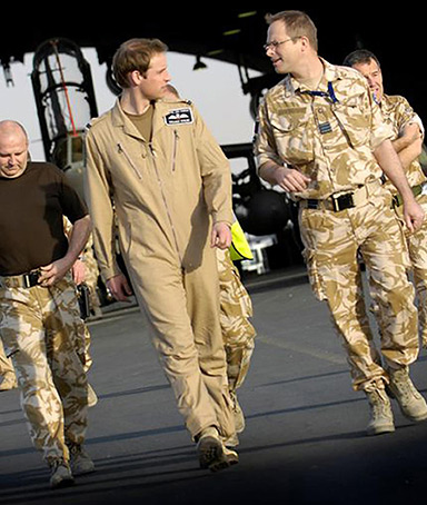 prince william plane afghanistan