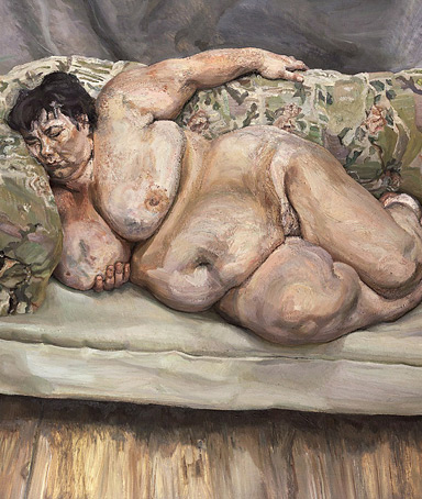 lucian freud christie painting
