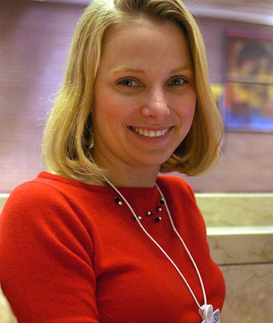 Marissa Ann Mayer, Vice-President of Google.