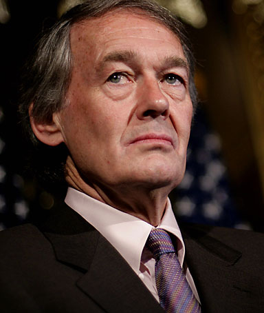 House Select Committee on Energy Independence and Global Warming Chairman US Representative Edward Markey speaks to members of the press 01 June 2007 in Washington, DC