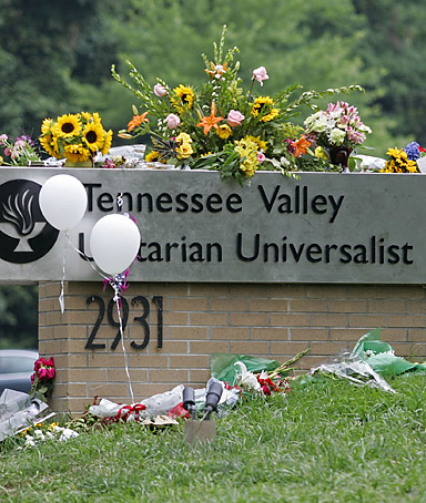 Tennessee Valley Unitarian Universalist Church shooting