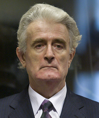radovan karadzic serbia war crimes the hague