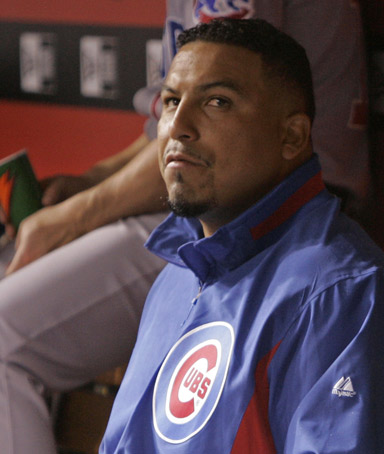 Chicago Cubs pitcher Carlos Zambrano
