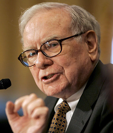 A file picture dated 14 November 2007 shows US multi-billionaire Warren Buffett pictured in Washington D.C.
