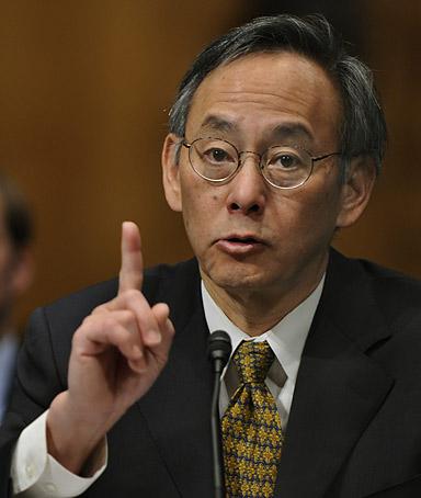 Nobel Prize-winning physicist Dr. Steven Chu