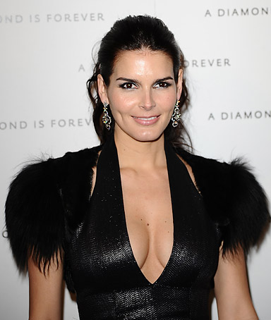 Actress Angie Harmon