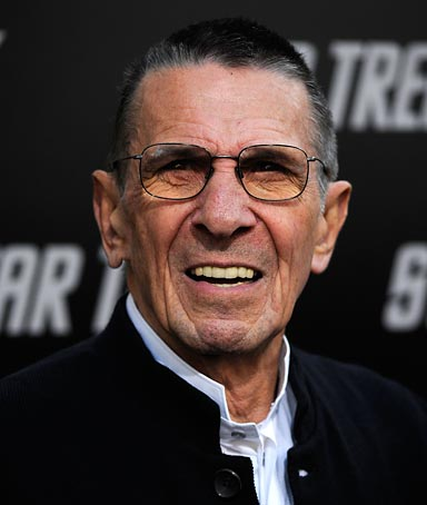 �It would be logical if you would become president.� - Leonard Nimoy, recalling his conversation with Barack Obama during his campaign for president.