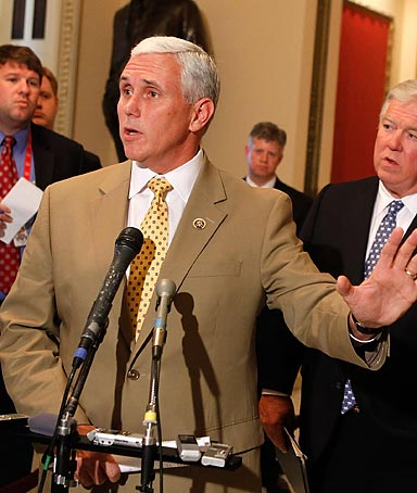 Rep. Mike Pence, Indiana Republican