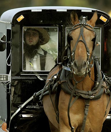 Amish in Indiana are now facing the economic pain searing the rest of the country.