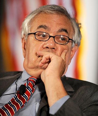 Chairman of the House Financial Services Committee Barney Frank