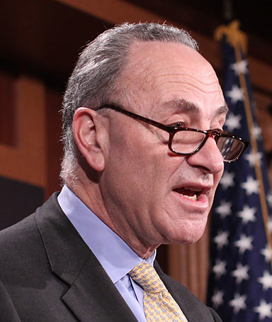 The Supreme Court has just determined the winners of next term�s elections. It won�t be Republicans. It won�t be Democrats. It will be corporate America. -Charles Schumer, New York Senator and head of the Senate's Democratic campaign efforts