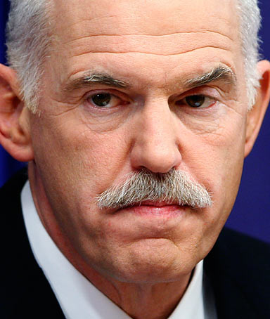 Prime Minister George Papandreou of Greece