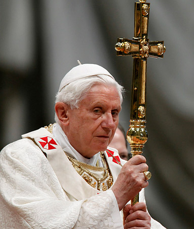 �I shared their suffering and emotionally prayed with them.� - Pope Benedict XVI, describing a recent visit with eight Maltese men who say they were molested by priests.