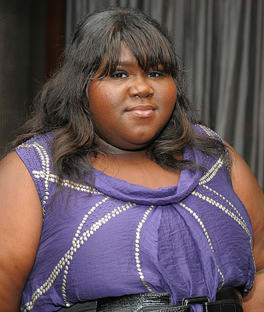 Actress Gabourey Sidibe attends the Cinema Society with People StyleWatch & J. Crew screening of